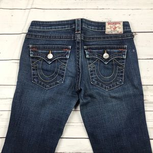 Women's True Religion Size 28 Low Rise Joey Jeans